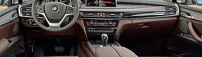 BMW OEM F15 X5 2014+ F16 X6 2015+ Fineline Pure Wood Interior Trim Kit OEM 4DD