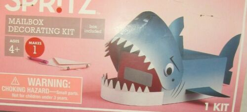 SHARK  Mailbox HEART Decorating Valentine Day Kit  Spritz - Be Mine NEW CRAFT