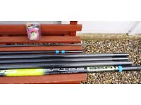 Maver Abyss 9.5 mtr pole plus extras new , unsed ...