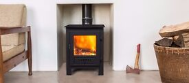 ESSE WOOD BURNING AND MULTI FUEL STOVE 5KW DEFRA APPROVED EX DISPLAY