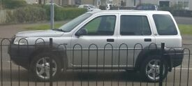 freelander serengeti 1.8 petrol BACK UP FOR SALE DUE TO TIME WASTERS