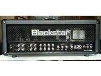 Blackstar Series One S1-200 200 Watt 4 Channel Valve Amp Head w/ footswitch included