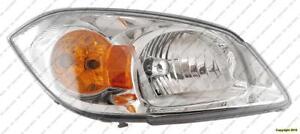 Head Lamp Passenger Side Base/L/Lt With Bracket High Quality PONTIAC G5 2005-2007