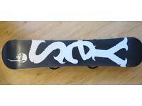 Snowboard - Yes Tadashi Fuse 129