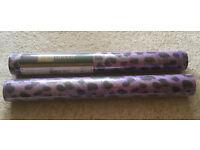 Wallpaper - funky leopard print - 2 rolls unopened