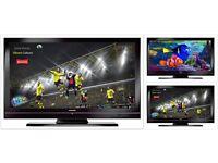 "TOSHIBA 40""… Wide-Screen… FULL HD… LCD… Flat-Screen-TV."