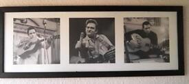 Johnny Cash Framed Photo