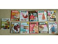 Jamie Oliver cookery magazines (11 items)