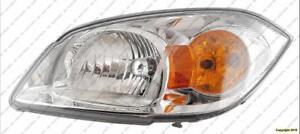 Head Lamp Driver Side Base/L/Lt With Bracket Chevrolet Cobalt 2005-2007
