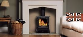 ESSE VISTA UK MADE 5KW DEFRA MULTI FUEL STOVE £600