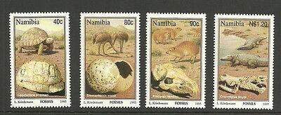 Namibia - Fossilien Satz postfrisch 1995 Mi. 789-792