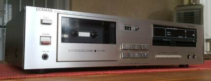 VINTAGE LUXMAN TAPE CASSETTE DECK PLAYER/MADE IN JAPAN