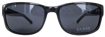NWT GUESS Sunglasses GU 6566 GRY-3 Gray / Smoke 58 mm GU6566 (Guess Wayfarer Sunglasses)
