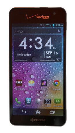 Kyocera Hydro Elite C6750 - 16GB - Black (Verizon) Smartphone