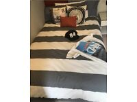 Single Bed and Mattress - Extra Wide