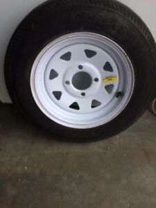 new!!! trailer spare tire and wheel