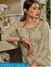 GANGA SONG OF THE WIND WHOLESALE ETHNIC SALWAR SUITS