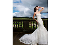 BEAUTIFUL SIZE 10 TALL LA SPOSA WEDDING DRESS