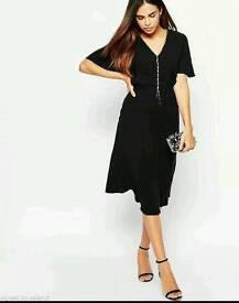 BNWT Warehouse Spotlight Diamante Open Back Dress. Size 14. RRP £78