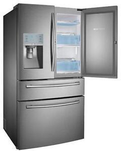 Réfrigérateur de 22,6 pi³ Stainless Samsung ( RF23HSESBSR )