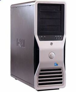DELL PRECISION T7400 Workstation Xeon Quad Core (2 x 3.0GHz)