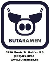 Buta Ramen is looking for Full/Part time servers