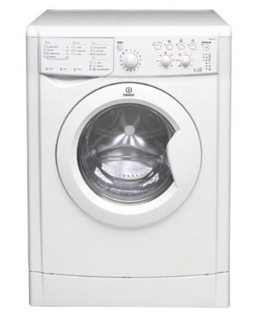 Almost New Silver INDESIT Washer/Dryer, Very Stylish