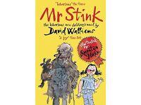 David Walliams Mr Stink, The Boy in the Dress and Billionaire Boy