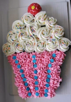 Cheap affordable Cupcake cakes