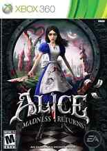 Wanted xbox 360 game Alice Madness Returns Bedford Bayswater Area Preview