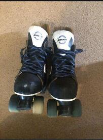 Bauer roller skates. RARE SIMS STREET SNAKE WHEELS ONO
