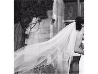 Elegant Cathedral Wedding Veil