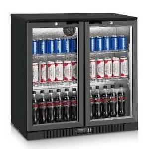 ABM210G - Commercial Black Magic Two Door Bar Fridge