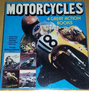 Vintage Motorcycle Racing Book Set