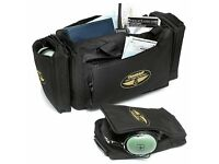 Transair Black Professional Pilot Flight Bag - £25