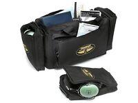 Transair Black Professional Pilot Flight Bag - £25