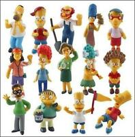 SIMPSONS SET OF 14 FIGURES COLLECTION
