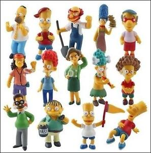 SIMPSONS SET OF 14 FIGURES COLLECTION West Island Greater Montréal image 1