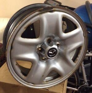 Jante (rim) d'acier original de Mazda pour CX5 2014