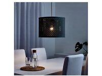 Blue/Gold Lamp Shade