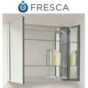 "NEW FRESCA MEDICINE CABINET 30"" FMC8090 224976570 Bathroom Medicine Cabinet With Mirrors"