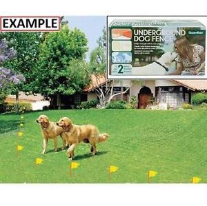 NEW GUARDIAN UNDERGROUND DOG FENCE Pets Dogs Dog Training  Behavior 103215138