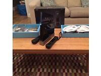 Limited edition black Nintendo Wii + Wii fit plus and 14 games