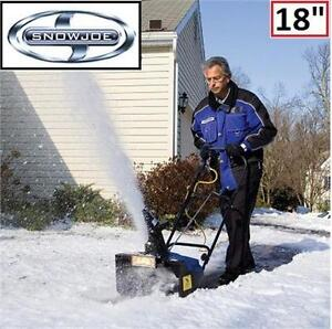 "NEW SNOW JOE 13.5A ELECTRIC SNOW THROWER 18"" SNOW BLOWER - WITH LIGHT  82718385"