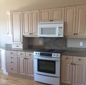 Kitchen Cabinets & Island, Granite Counter Top