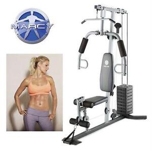 NEW MARCY HOME EXERCISE GYM FITNESS WORK OUT MACHINE EXERCISE FITNESS EQUIPMENT EQUIPMENT TRAINING STREGHTHEN  79545540