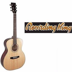 NEW RECORDING KING ACOUSTIC GUITAR   RO-10 CLASSIC SERIES ALL SOLID ACOUSTIC GUITAR  85243382