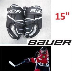 "NEW: BAUER CHALLENGER HOCKEY GLOVE 11""-$30 or 15""-$40"