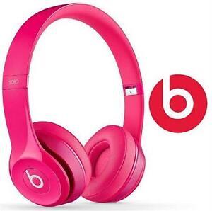 REFURB BEATS SOLO2 HEADPHONES PINK - SOLO 2 OVER EAR AUDIO 83976979