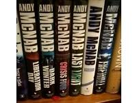 New Andy McNab hardback bundle